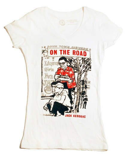 Classic Book Cover Tee Shirts : Out of print clothing lauren leto